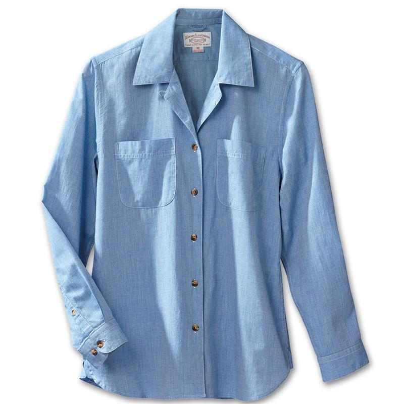 Shop for womens chambray shirt at 10mins.ml Free Shipping. Free Returns. All the time.