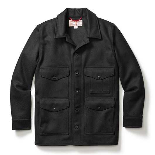 Filson washed single mackinaw cruiser