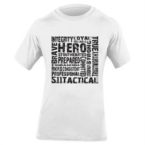 5.11 Tactical Hero T-Shirt in White, 40088AE