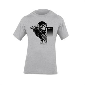 5.11 Tactical Shooter T-Shirt in Heather, 40088Y