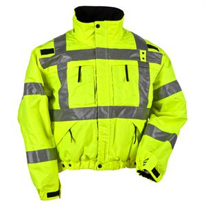 5.11 Tactical Hi-Visibility Reversible Jacket, in Reflective Yellow, 48037