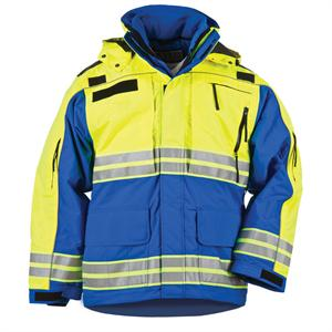 5.11 Tactical Responder Hi-Vis Parka - Mens, in Royal Blue, 48073