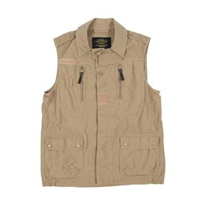 Rival Vest Jacket in Khaki