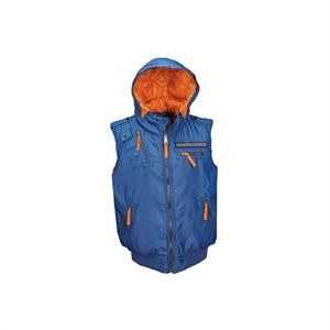 Stabilizer Utility Vest Jacket in Pacific Blue