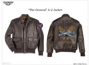 """The General"" by Cockpit USA - Aviation Jacket"
