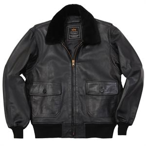 Alpha Industries G-1 Leather Jacket - MLG21210P1