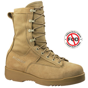Belleville 330 DES ST - Hot Weather Tan Safety Toe Flight Boot   - Combat Boots