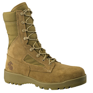 Belleville 550 ST - Hot Weather Olive Green Safety Toe Boot  USMC - Combat Boots