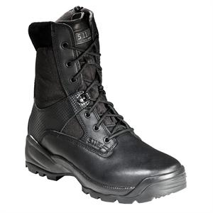 "The 5.11 TACTICAL Atac 8"" With Side Zipper in Black - Police shoes"