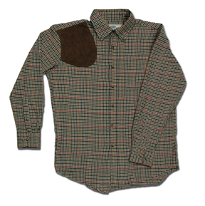 Boyt Harness District Check Shirt With Suede Shooting Pad - HU1750