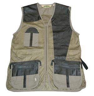 Boyt Harness Mesh & Leather Shooting Vest - 285M