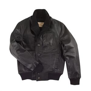 Cockpit 1939 Aviator Jacket - Black - Z21G004