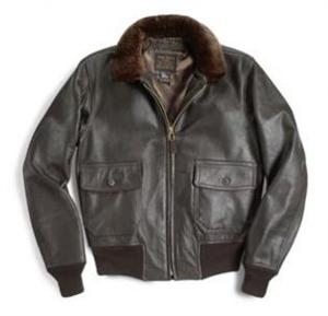 Cockpit USA Z2108 - US Navy Issue Mil Spec Type G-1 Jacket - Leather Bomber Jacket