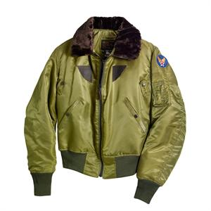 Cockpit B-15 Nylon Jacket (Imported) - Olive - Z2213C