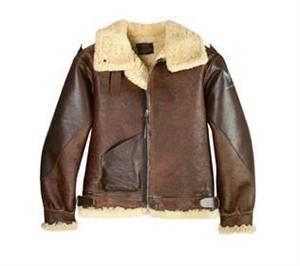 Cockpit USA Z213374 - Pearl Harbor B-3 Jacket, Sheepskin - Leather Bomber Jacket