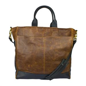 Dispatch Leather Bag in Brandy