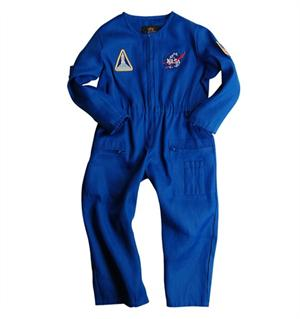 Youth NASA Astronaut Flight Suit in Blue