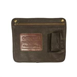 Leather iPad Sleeve in Brown