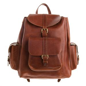 Legacy Leather Backpack in Cordovan