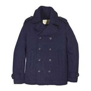 Peacoat Sweater Jacket in Navy