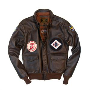 40th Anniversary Red Raiders A-2 Jacket in Brown