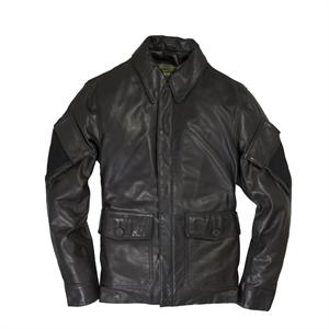 Sniper Leather Jacket in Brown