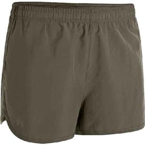 Under Armour UA Tactical Women's Training Short - Marine OD Green/Black - 1246072-390