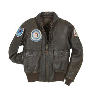 U.S.S. Ticonderoga G-1 Jacket In Brown
