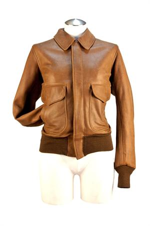 Cockpit USA Women's Raider Jacket - Leather Bomber Jackets