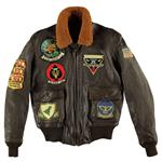 Cockpit A-6 Intruder Jacket - Brown - Z21P021
