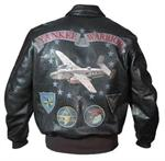 Cockpit USA Z21D003 - U.S.A. Yankee Warrior A-2 Flight Jacket - Aviator Jacket