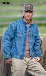 Schaefer Outfitter 581 Legend Denim Jacket - Indigo - SCH-581