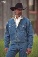 Schaefer Outfitter 583 Legend Denim Jacket With Fleece Blanket Lining - Indigo - SCH-583