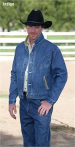 Schaefer Outfitter 589 Chisholm Denim Jacket - Indigo - SCH-589